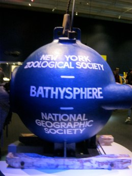 Inside the Bathysphere