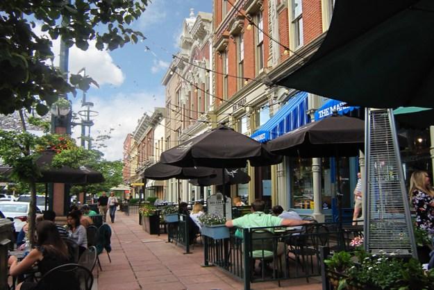 Denver's Larimer Square.