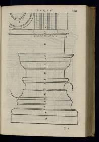 The Doric Order illustrated in De Architectura, trans. Barbaro, 1567 edition
