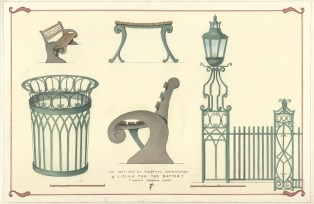 ICAA Summer School design project for Battery Park furniture