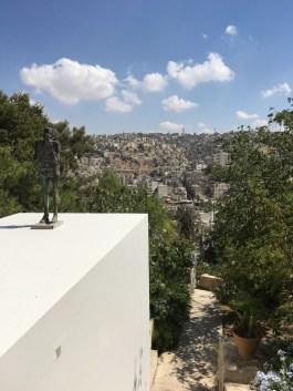 View from Khalid Shoman art center