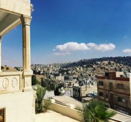 View from Khalid Shoman center