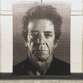 Mr. Lou Reed, perpetually waiting for his man