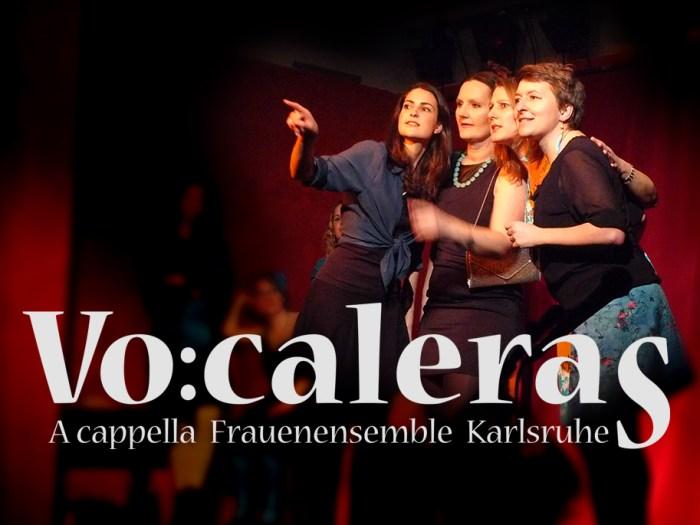 Logoentwicklung für das Karlsruher a cappella Ensemble Vocaleras   KERNgeschäft