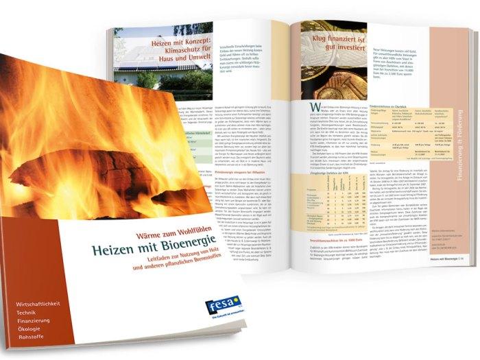 Konzeption und Produktion Bioenergiebroschüre   KERNgeschäft Christine Kern