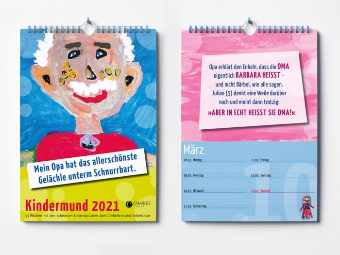 Wochenkalender 2021 | KERNgeschäft Christine Kern