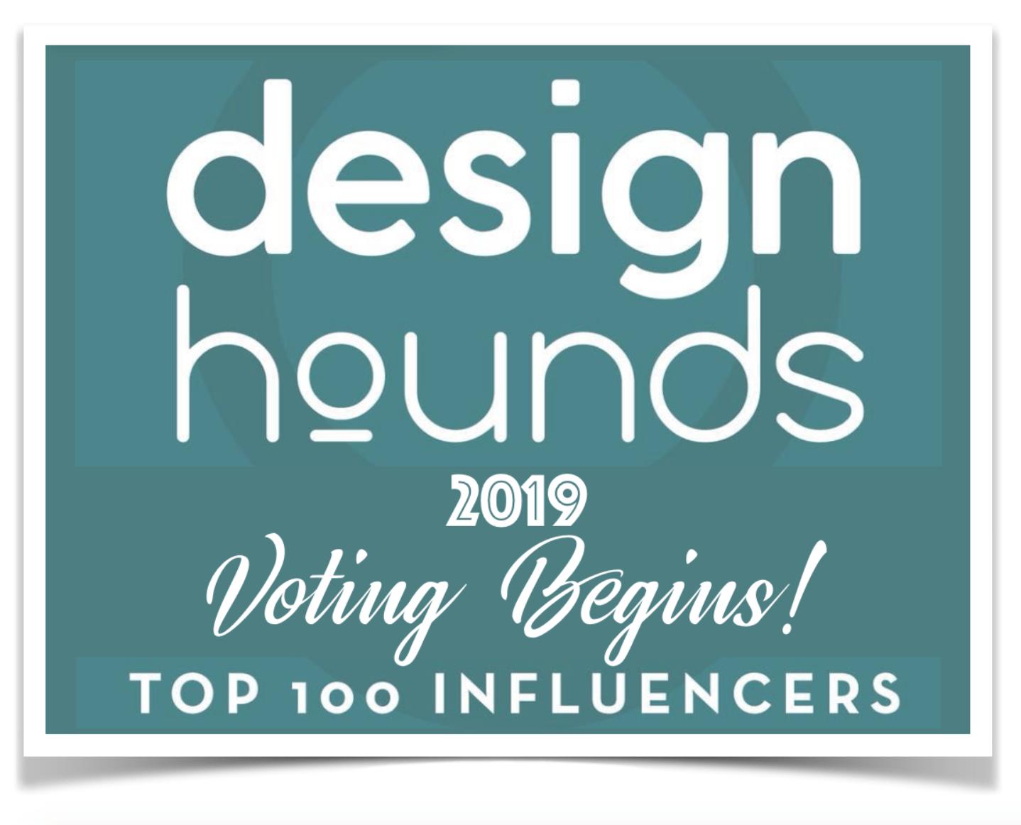 Design Hounds, Modenus, Christine Kohut Interiors, #designninja, Top 100 Influencers, Vote