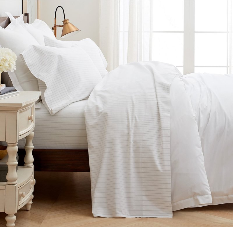 boll and branch, nordstrom, cotton percale sheets, thread count, bed, bedding, making the bed, bedroom, Christine Kohut Interiors, #CKdesignninja, design ninja