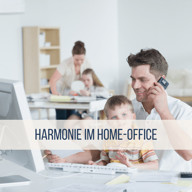 Home-Office und Home-Schooling