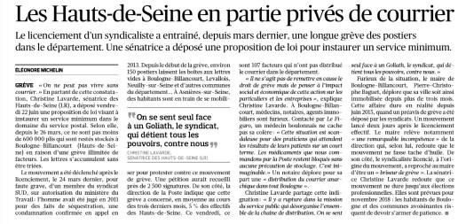 article Figaro PPL La Poste