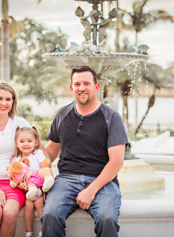 Alexis turns Three! | Plant City Family Photographer | Family Portraits
