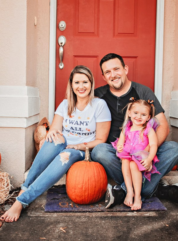 In Home Fall Family Sessions| Plant City Family Photographer | Family Portraits