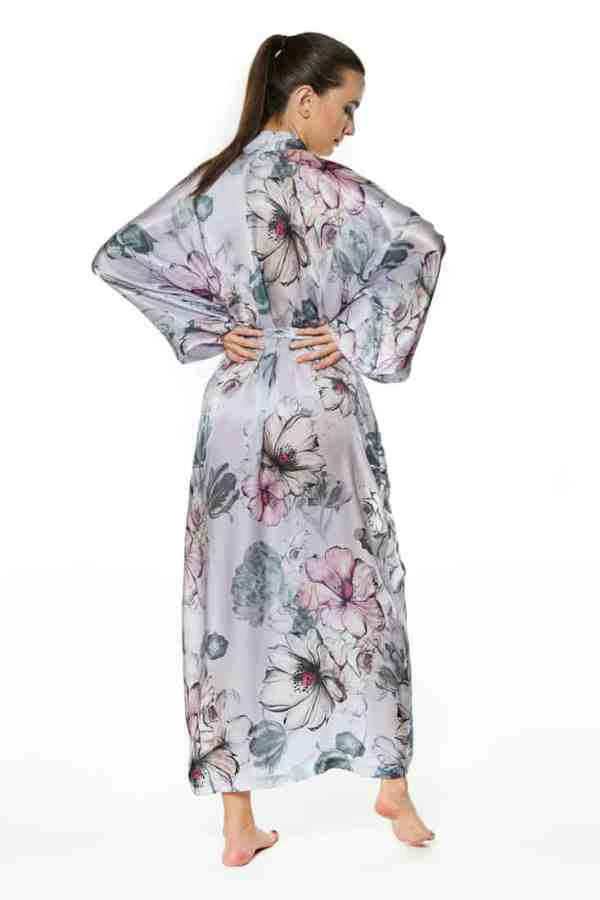 Steel Magnolia Long Robe