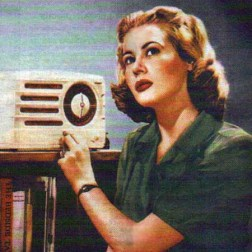 old-time-radio-pie-listener