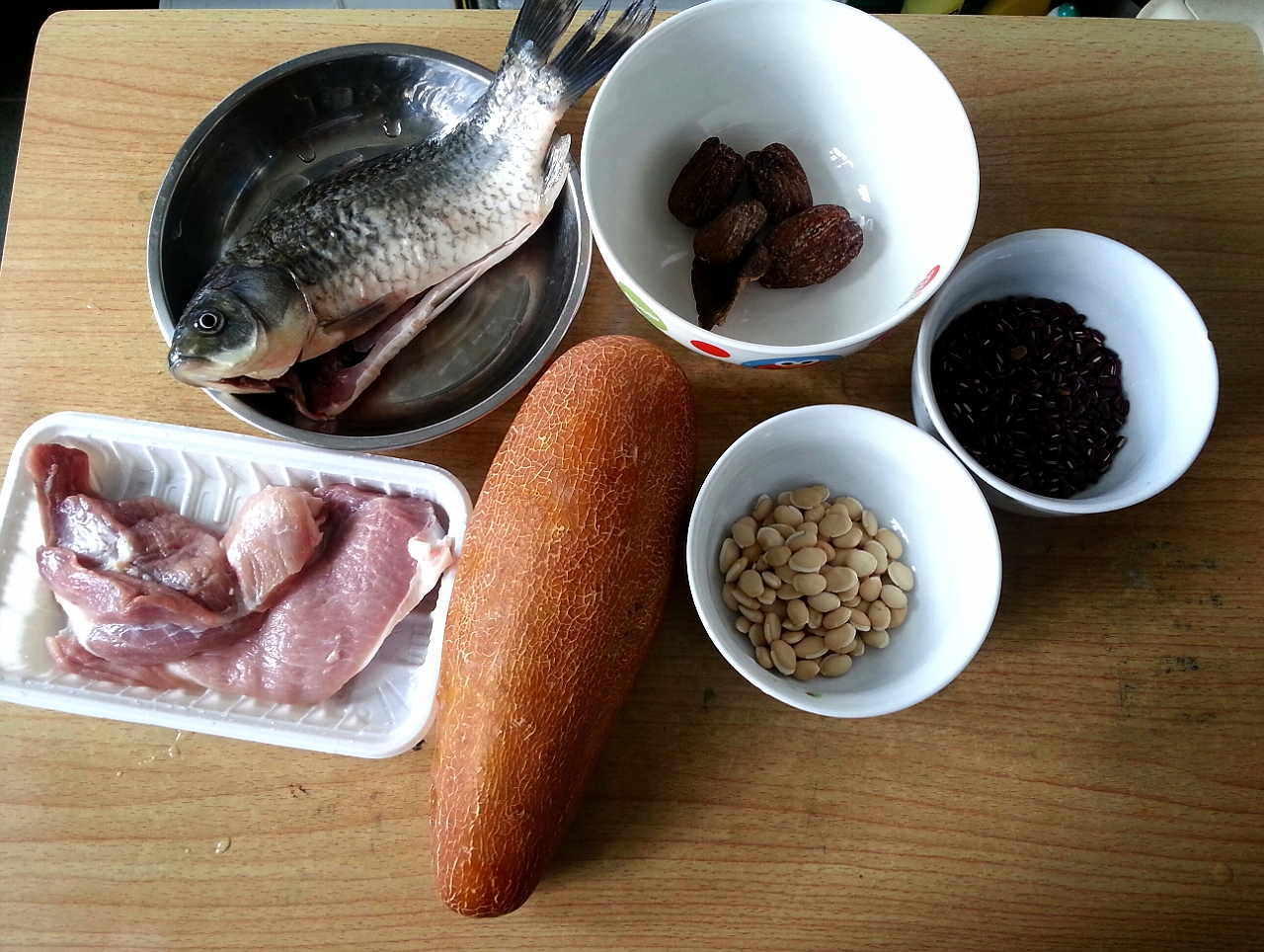 老黃瓜鯽魚湯   Christine's Blog