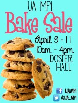 Flyer I created for our first Bake Sale fundraiser