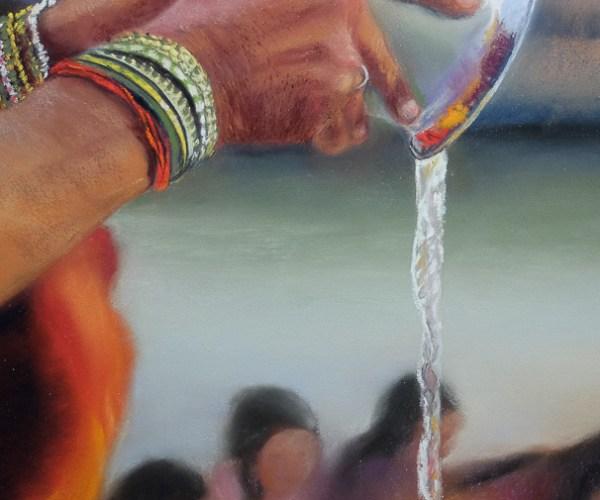 Au bord du Gange, l'eau divine