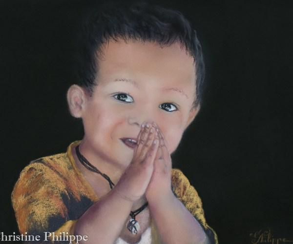 Namasté petit indien
