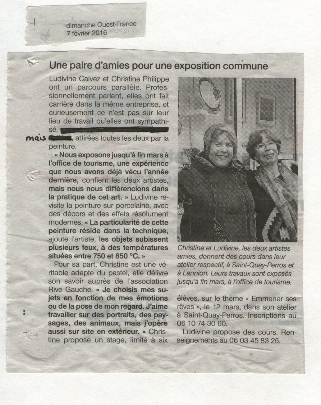exposition Christine Philippe