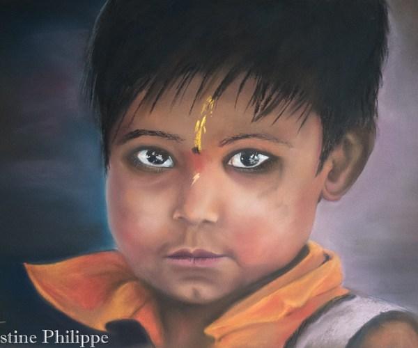 Enfant Indie Hindoue
