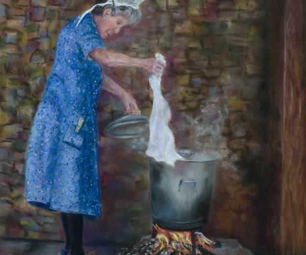 La lavandière