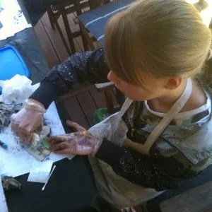 ChritinePorterArtist childrens Art Classes Printmaking with Primary School Ages