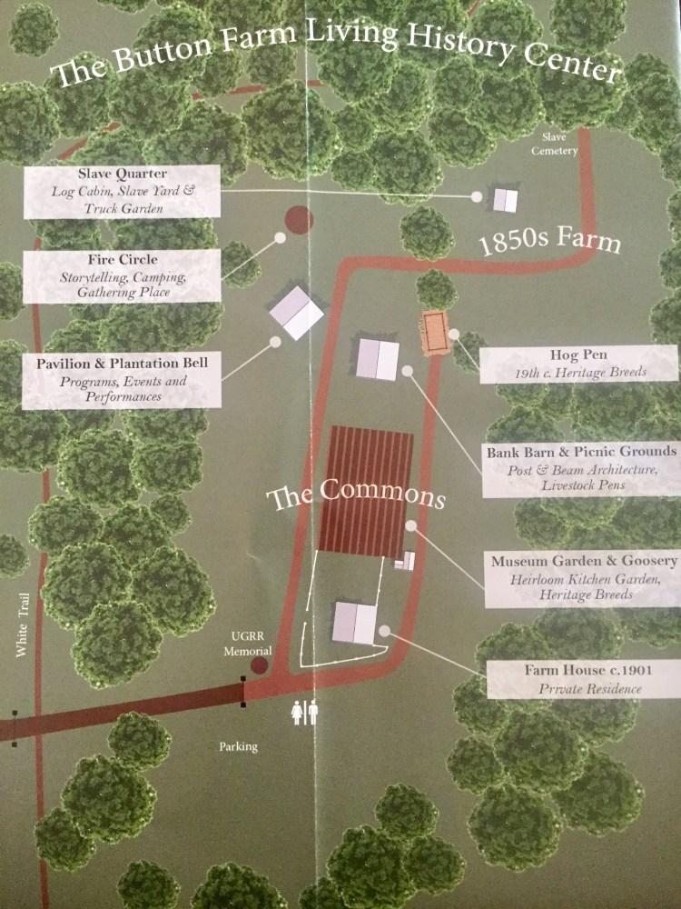 Button Farm map