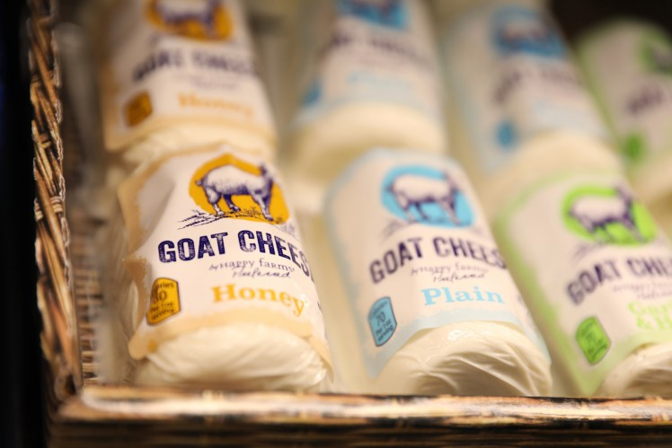 Aldi's goat cheese