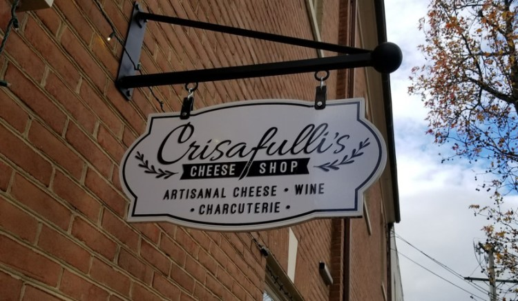 Crisafulli's is in the heart of historic downtown Frederick.