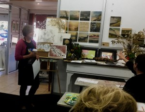 The introduction to the Botanical Drawing workshop