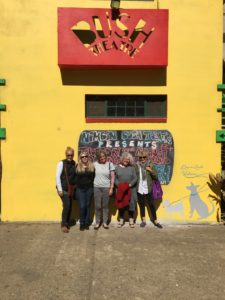 The Nimbin Art Retreat team at Phoenix Rising Café