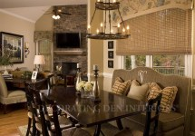 Traditional Family Room Interior Design