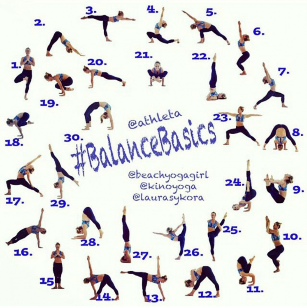 Balance Basics Yoga Challenge