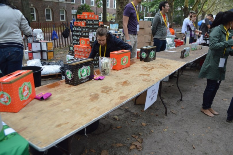 All you could drink beverage table