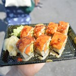 Vegan Sushi from Vegetable Garden