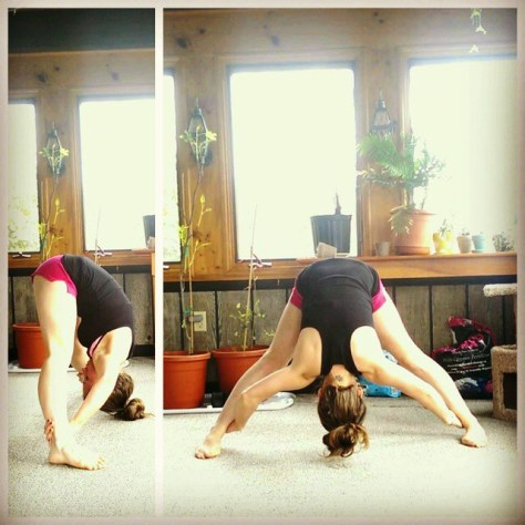 Day 3: Prasarita Padottanasana, Wide Legged Forward Bend
