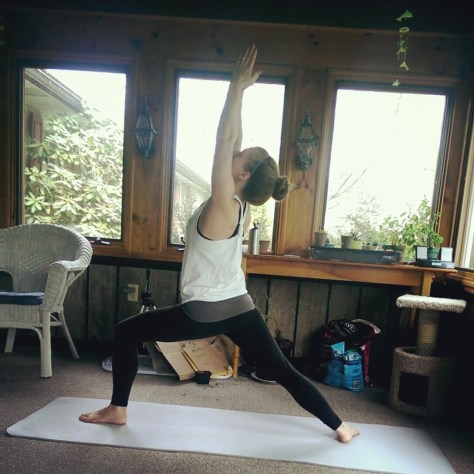 Day 5: Virabhadrasana. Warrior I