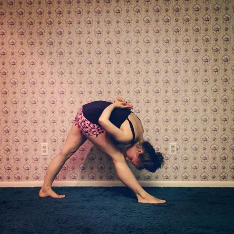 Day 5: Parsvottanasana, Pyramid Pose