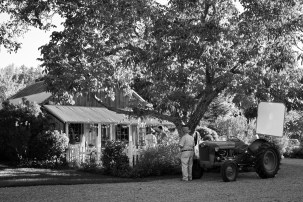 Foreman's Cottage during the filming of Been A Long Time album video at Park Winters