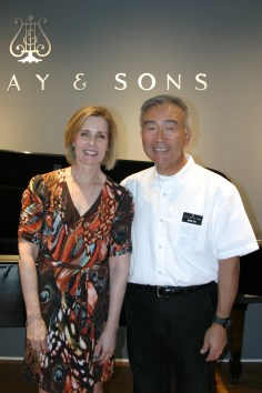 Christine & David at Steinway & Sons Recital