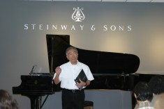 David Ida at Steinway & Sons Recital