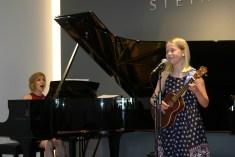 Ellie sings at Steinway & Sons Recital