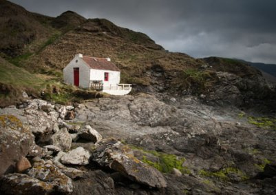 Cottage at the cove, Niarbyl