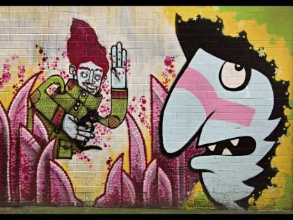 Graffiti Manchester Northern Quarter