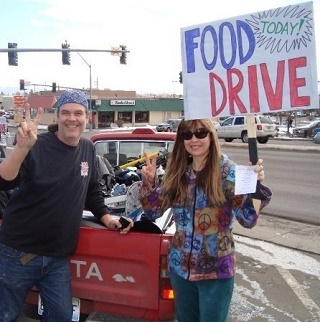 Homeless Food Drive
