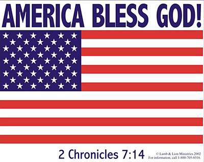 America Bless God!