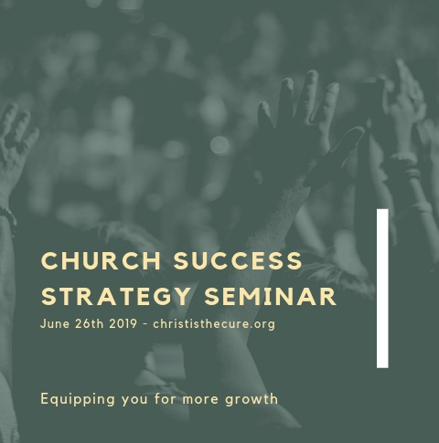 """Church Success Strategy Seminar"""