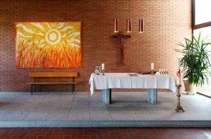 Altar der Kirche Burgdorf