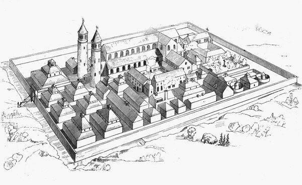 Campus Galli und Wettingen
