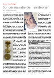 Sonderausgabe Gemeindebrief Baselland & Laufen Nr. 2